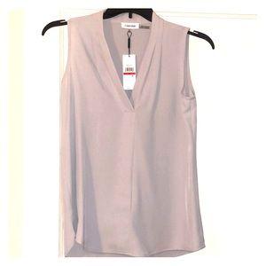NWT Calvin Klein Top - Size XS - Gray